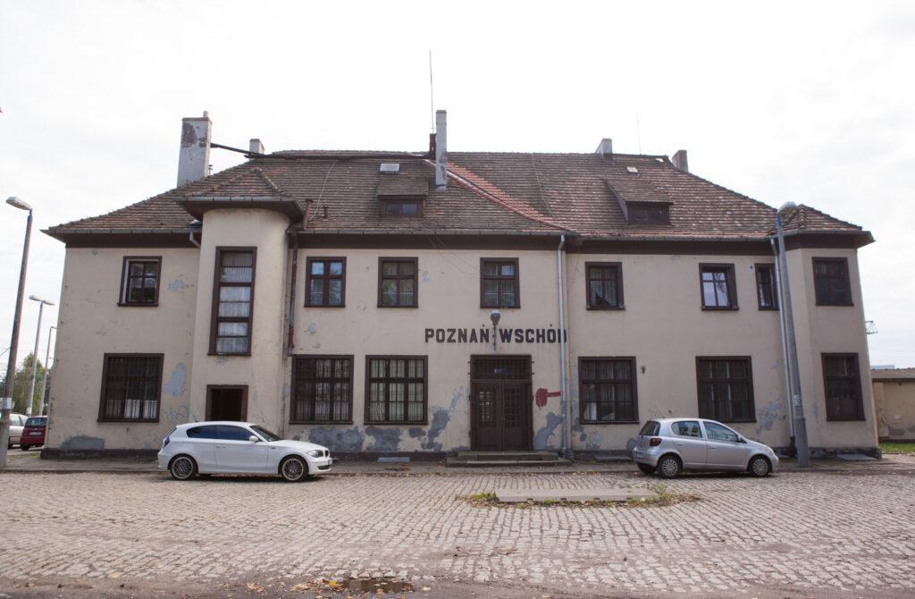 bydynek dworca Poznań Wschód