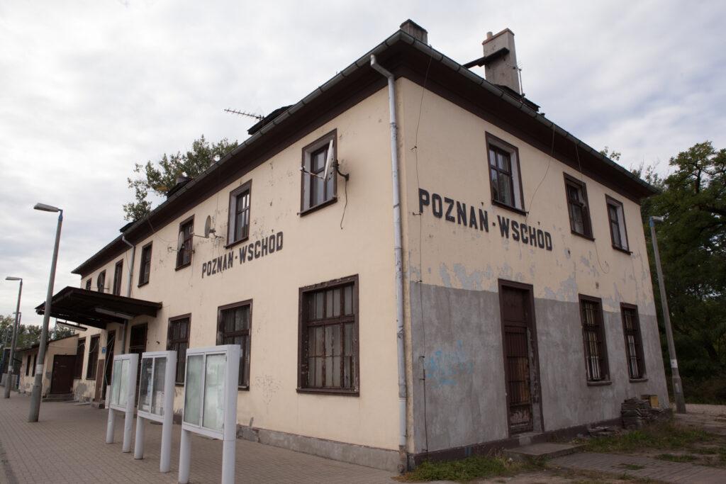 budynek dworca poznań wschód