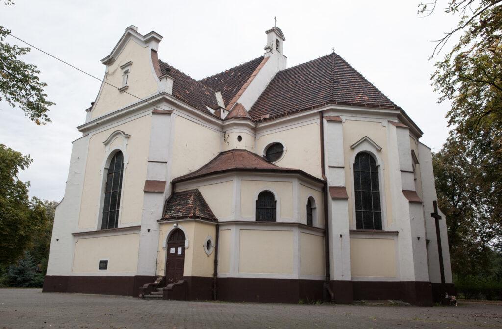 kościół NMP ulica Mariacka dzielnica Główna