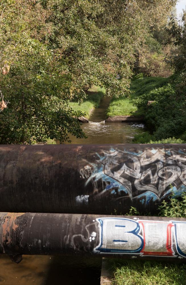 rury nad rzeką Główną fyrtel główna
