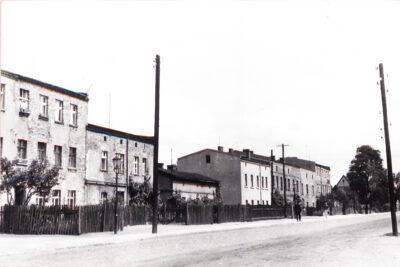 fyrtel główna domy przy ulicy gnieźnieńskiej fotografia archiwalna z roku 1963 właściciel miejski konserwator zabytków