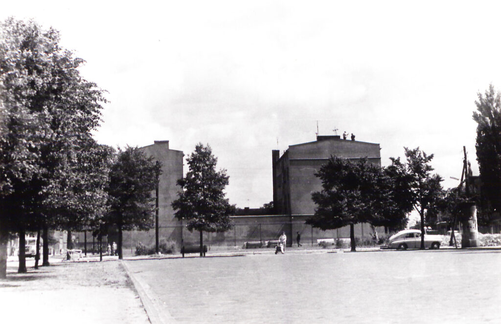 rynek wschodni 1963 zdjęcie ze zbiorów miejskiego konserwatora zabytków