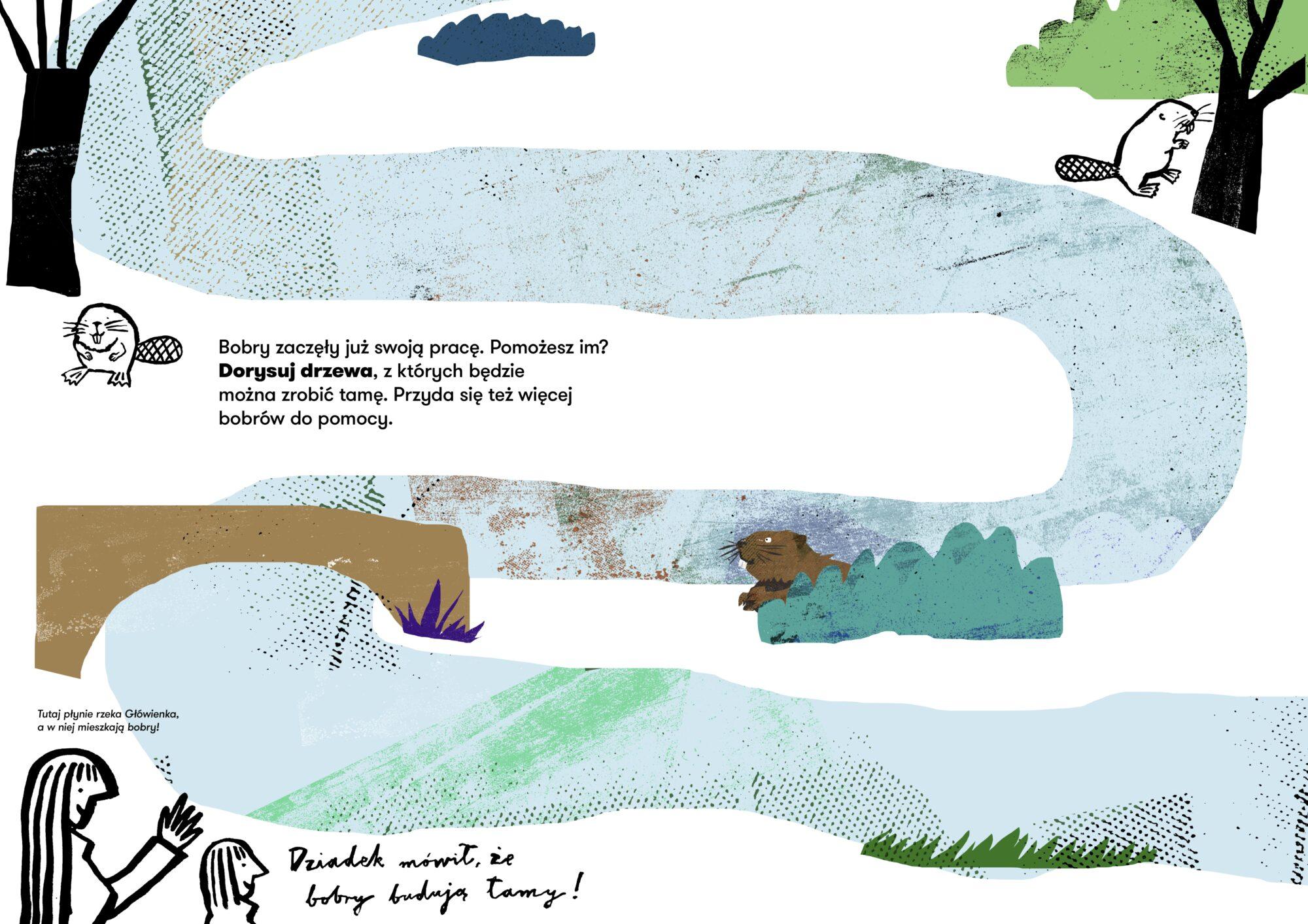 Natura na Głównej. Aktywnościówka dla dzieci - strona 5