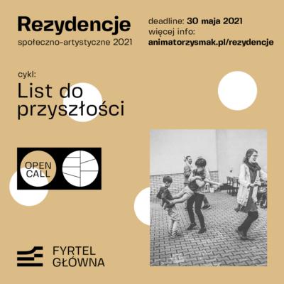 Rezydencje społeczno-artystyczne w przestrzeni Fyrtla Główna – Społecznego Centrum Kultury