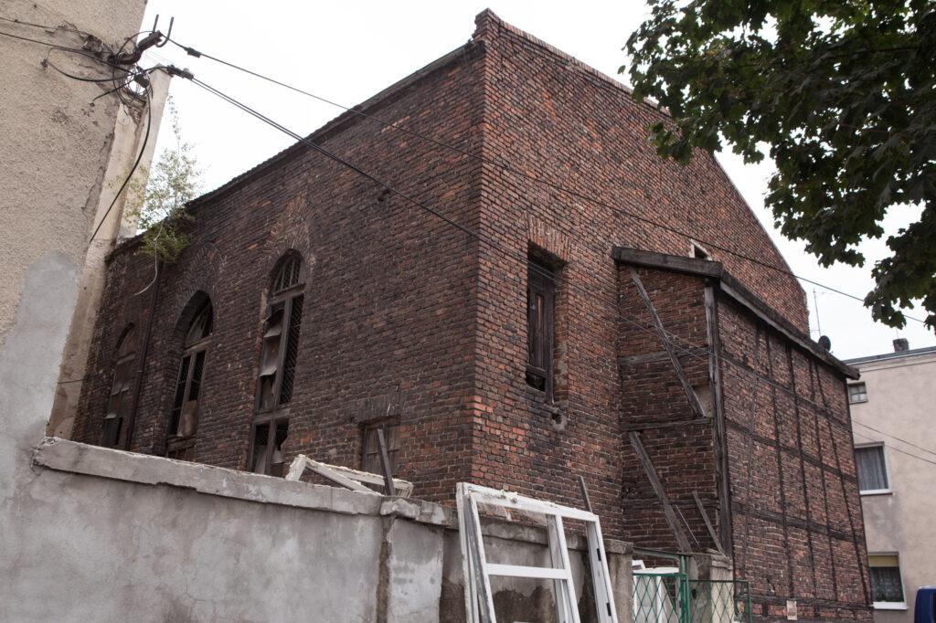 zbór ewangelicki dawna sala teatralna na głównej