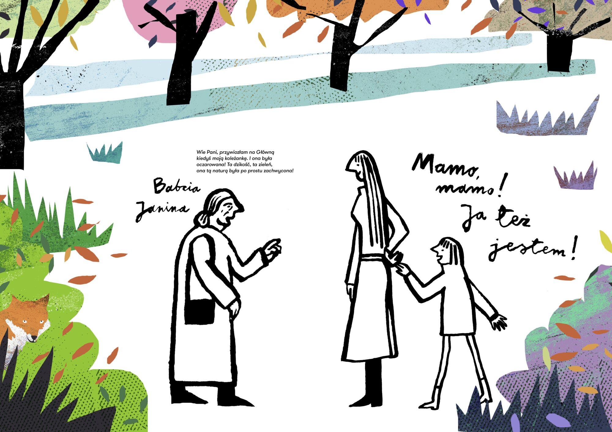 Natura na Głównej. Aktywnościówka dla dzieci - strona 8