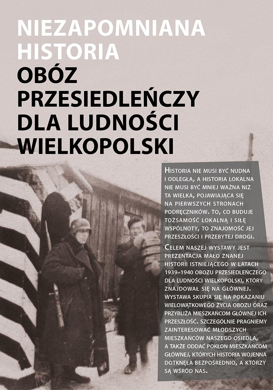 niezapomniana_historia wystawa obóz przesiedleńczy dla ludności wielopolski